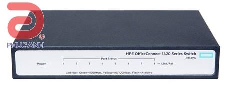 Thiết bị chia mạng HPE 1420 8G - JH329A