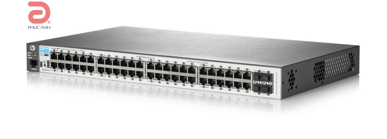Thiết bị chia mạng HPE Aruba 2530 48G - J9775A - Switch thông minh, Cổng quang