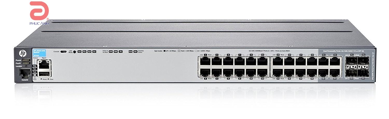 Thiết bị chia mạng HPE Aruba 2920 24G - J9726A - Switch thông minh, Cổng quang