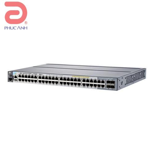 Thiết bị chia mạng HPE Aruba 2920 48G - J9728A - Switch thông minh, Cổng quang
