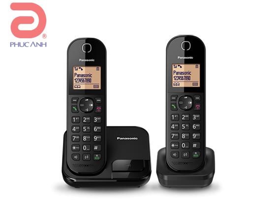 Điện thoại keo dai Panasonic KX-TGC412- Đen