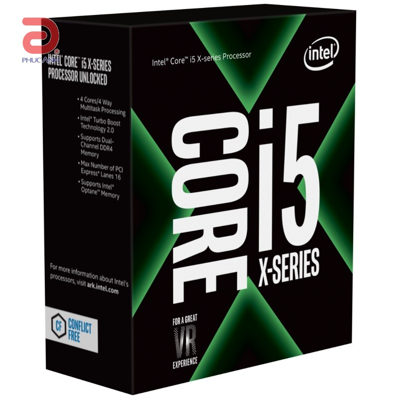 CPU Intel Core i5 7640X (Up to 4.2Ghz/ 6Mb cache) Kabylake
