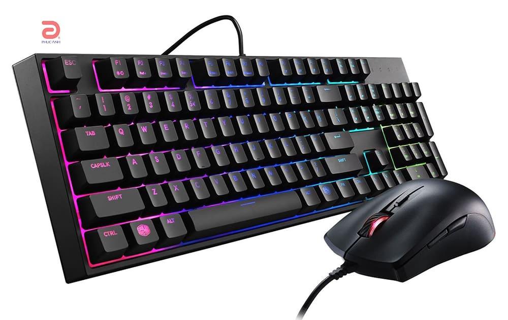 Bộ bàn phím chuột Cooler Master Masterkeys Lite L RGB