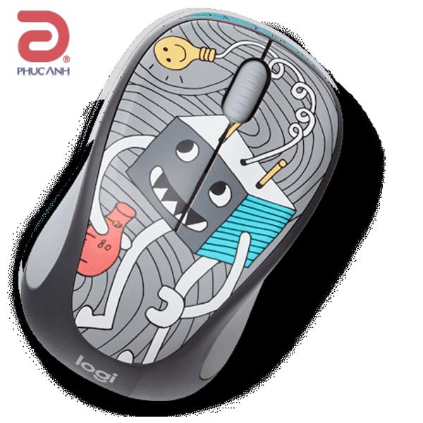 Chuột không dây Logitech M238 Bóng đèn (Light Bulb) (USB-Wireless)