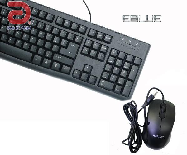 Bàn phím Eblue EKM045BK (USB)