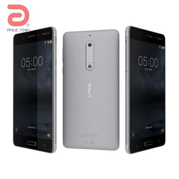 Nokia 5  (Silver)- 5.2Inch/ 16Gb/ 2 sim