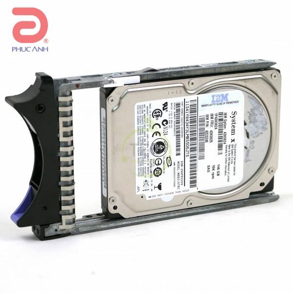 Ổ cứng server IBM 146Gb 15K 6Gbps SAS 2.5Inch - 43X0824 - hàng nhập khẩu