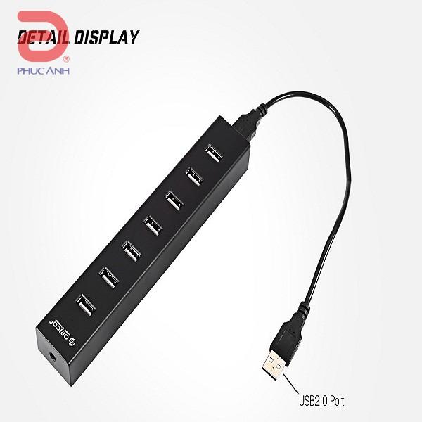 Bộ chia USB 1 ra 7 Orico H7013-U2-10 (USB2.0)