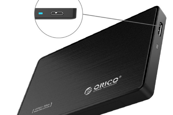 Hộp đựng ổ cứng Orico 2588US3 2.5Inch USB3.0 (Màu đen)