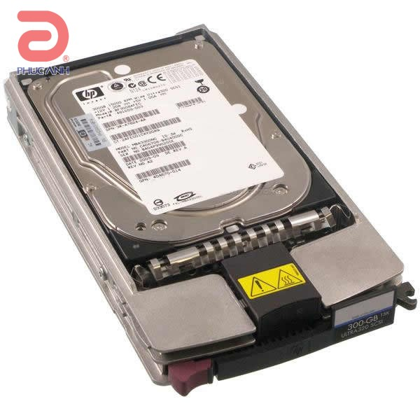 Ổ cứng server HP 300Gb 15.000rpm Ultra U320 SCSI 3.5Inch 411089-B22 - hàng nhập khẩu