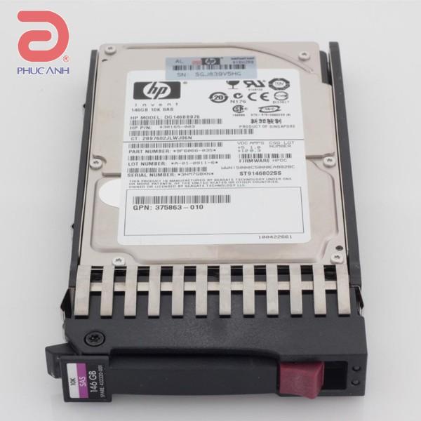Ổ cứng server HP 146Gb 10.000rpm SAS 3.5Inch - 431958-B21 - hàng nhập khẩu