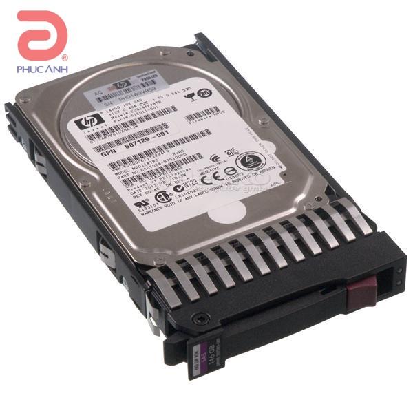 Ổ cứng server HP 146Gb 10.000rpm SAS 2.5Inch - 507125-B21 - hàng nhập khẩu