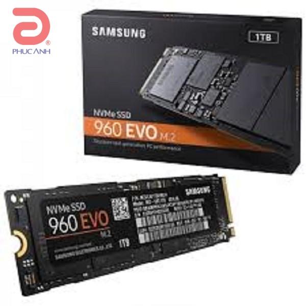 Ổ SSD Samsung 960 Evo 1Tb PCIe Gen NVMe 1.2 M2.2280 (đọc: 3200MB/s /ghi: 1900MB/s)