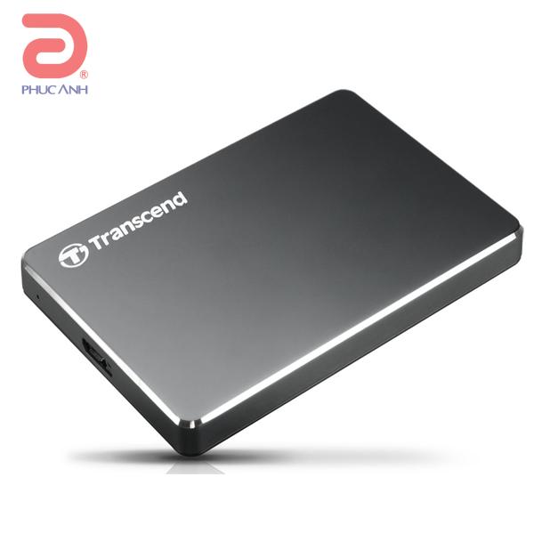 Ổ cứng di động HDD Transcend Ultra Slim 25C3 1Tb USB3.0