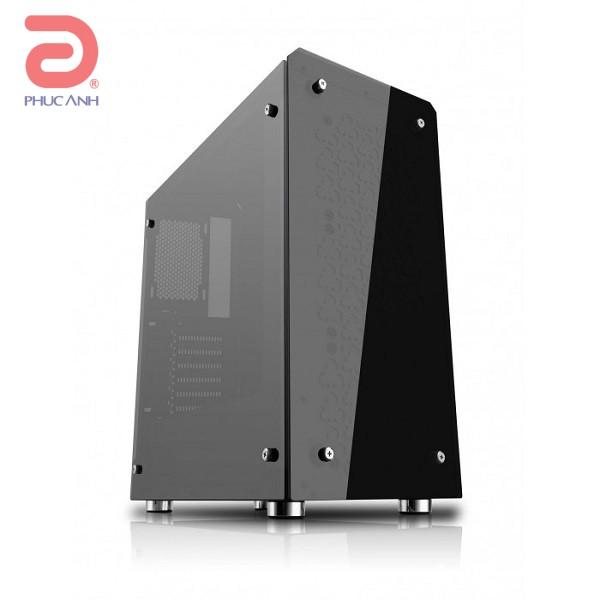 Vỏ máy tính Sama AURORA BLACK  (MicroATX, Mini-ITX, ATX)
