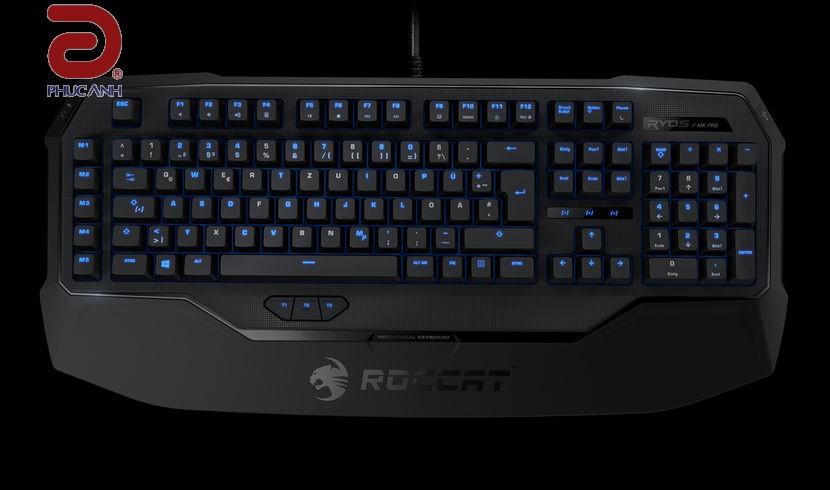 Bàn phím cơ Roccat Ryos MK Pro Brown (USB)