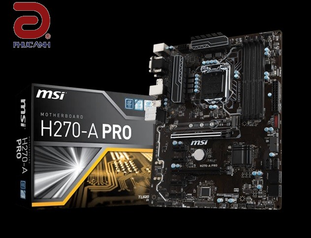 Main MSI H270A PRO (Chipset Intel H270/ Socket LGA1151/ VGA onboard)