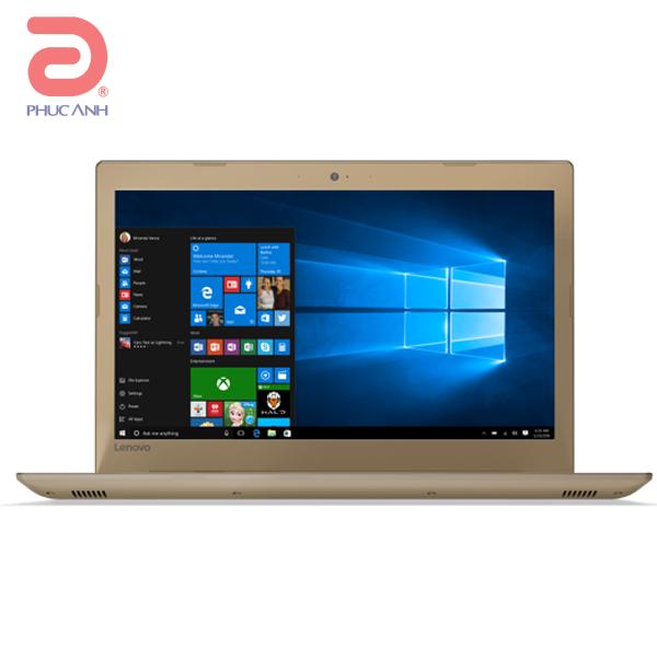 Laptop Lenovo Ideapad 520 15IKB-80YL005FVN (Gold)- CPU Kabylake,mỏng,nhẹ