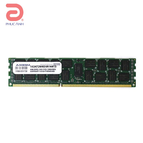 RAM Server IBM 8GB PC12800 RDIMM - 90Y3109 - (hàng nhập khẩu,Dùng cho System  X3650 M4)