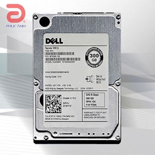 Ổ cứng server Dell 300Gb 10.000rpm 6Gbps SAS 2.5Inch - 0T871K - Hàng nhập khẩu