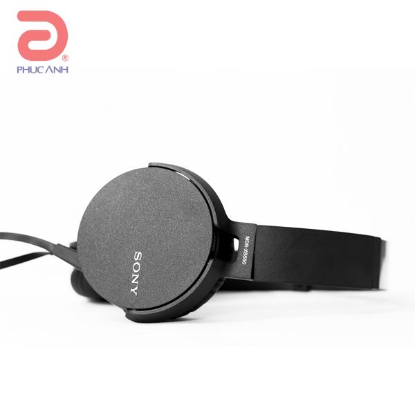 Tai nghe Sony MDR-XB550AP (Đen)