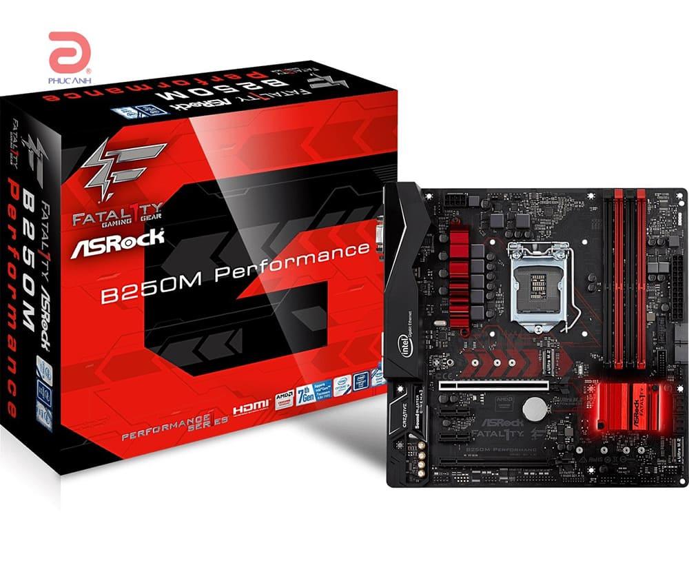 Main Asrock B250M Performance (Chipset Intel B250/ Socket LGA1151/ VGA onboard)
