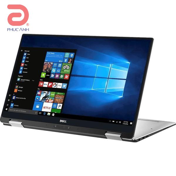Laptop Dell XPS 13-9365-70123079 (Silver)- Vỏ nhôm, không viền màn hình, Touch, Pen