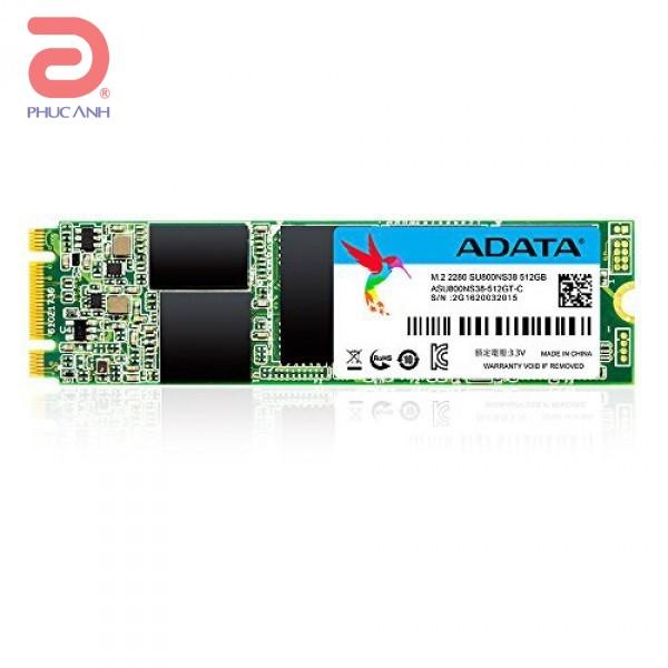 Ổ SSD SSD Adata SU800 512Gb M2.2280 (đọc: 560MB/s /ghi: 520MB/s)