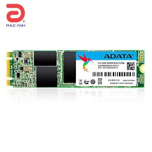 Ổ SSD SSD Adata SU800 128Gb M2.2280 (đọc: 560MB/s /ghi: 520MB/s)