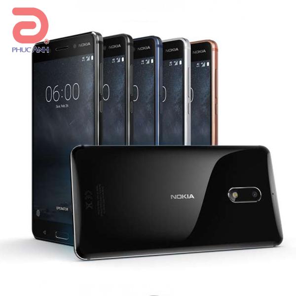 Nokia 6  (Black)- 5.5Inch/ 32Gb/ 2 sim