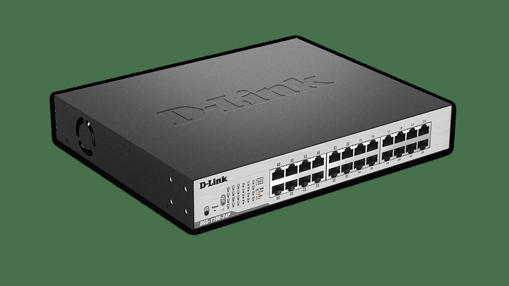 Thiết bị chia mạng D-link DGS-1100-24P - Switch thông minh