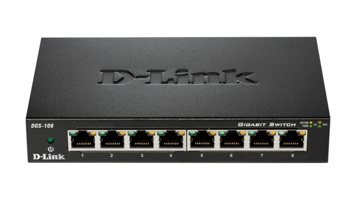 Thiết bị chia mạng D-link DGS-108