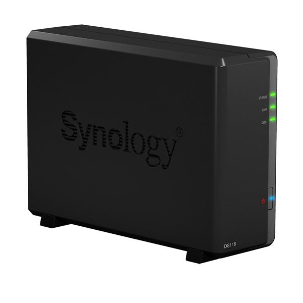 Ổ lưu trữ mạng Synology DS116 (chưa có ổ cứng)
