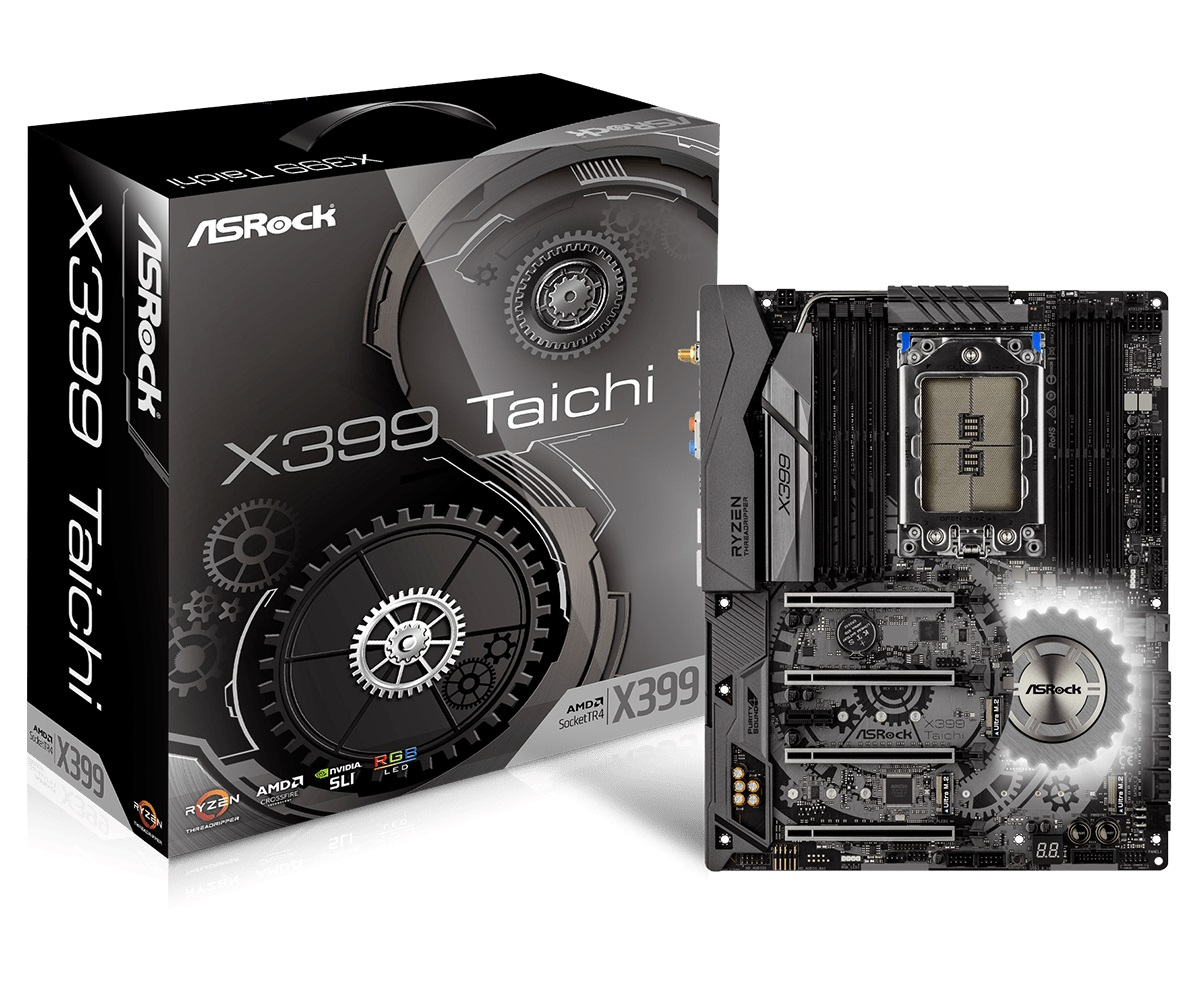 Main Asrock X399 Taichi (Chipset AMD X399/ Socket TR4/ VGA Option)