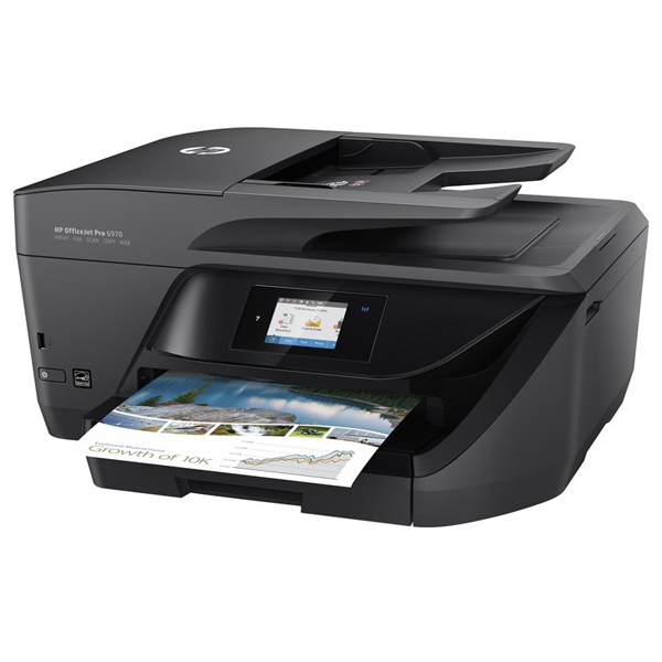 Máy in phun màu HP OfficeJet Pro 6970 All-in-One (J7K34A) (Print/ Copy/ Scan/ Fax)