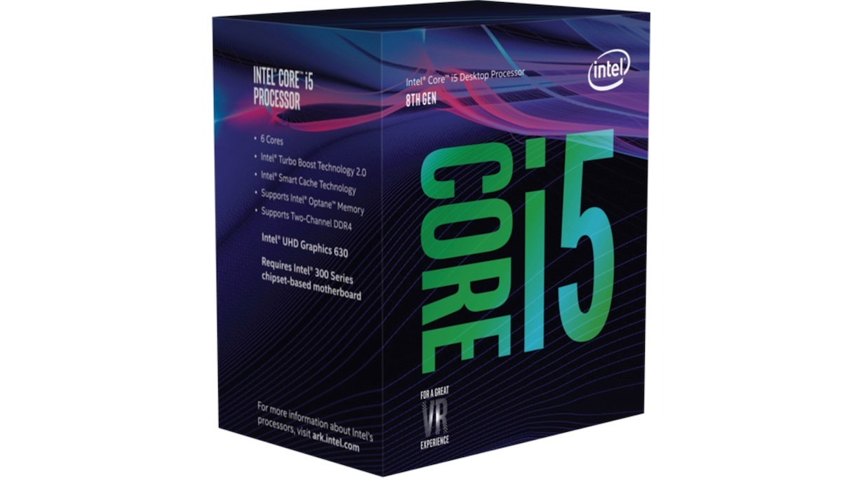 CPU Intel Core i5 8600K (Up to 4.30Ghz/ 9Mb cache) Coffee Lake