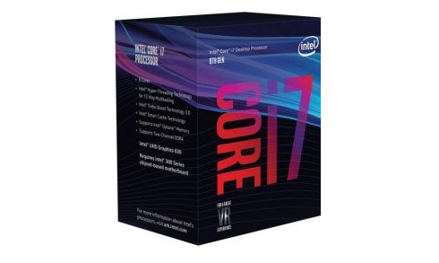 CPU Intel Core i7 8700 (Up to 4.60Ghz/ 12Mb cache) Coffee Lake
