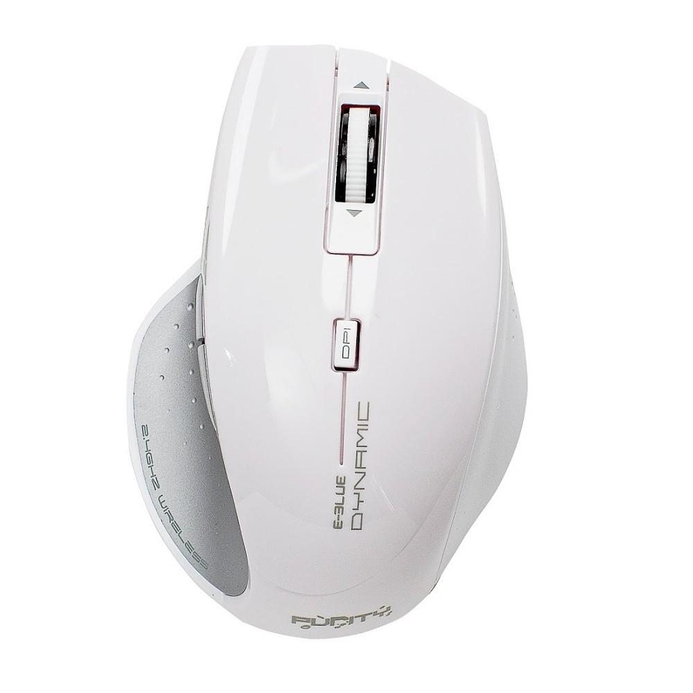 Chuột không dây Eblue Gaming Dynamic (EMS106WH/BK) (USB, Không dây)