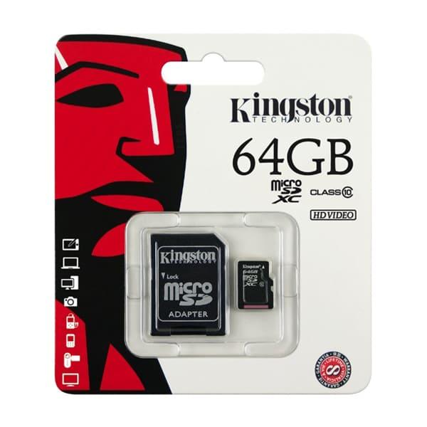 Thẻ nhớ SD Kingston 64Gb Class 10