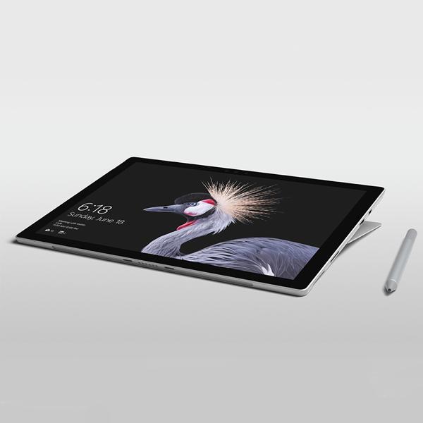 Microsoft Surface Pro 2017 m3/4G/128Gb (Silver)- 128Gb/ 12.3Inch/ Wifi