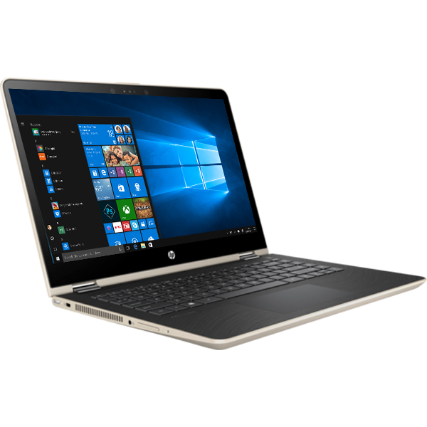 Laptop HP Pavilion x360 14-ba069TU 2GV31PA (Gold)