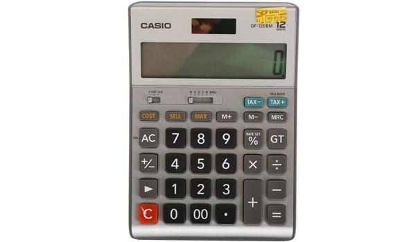 Máy tính Casio DF-120BM