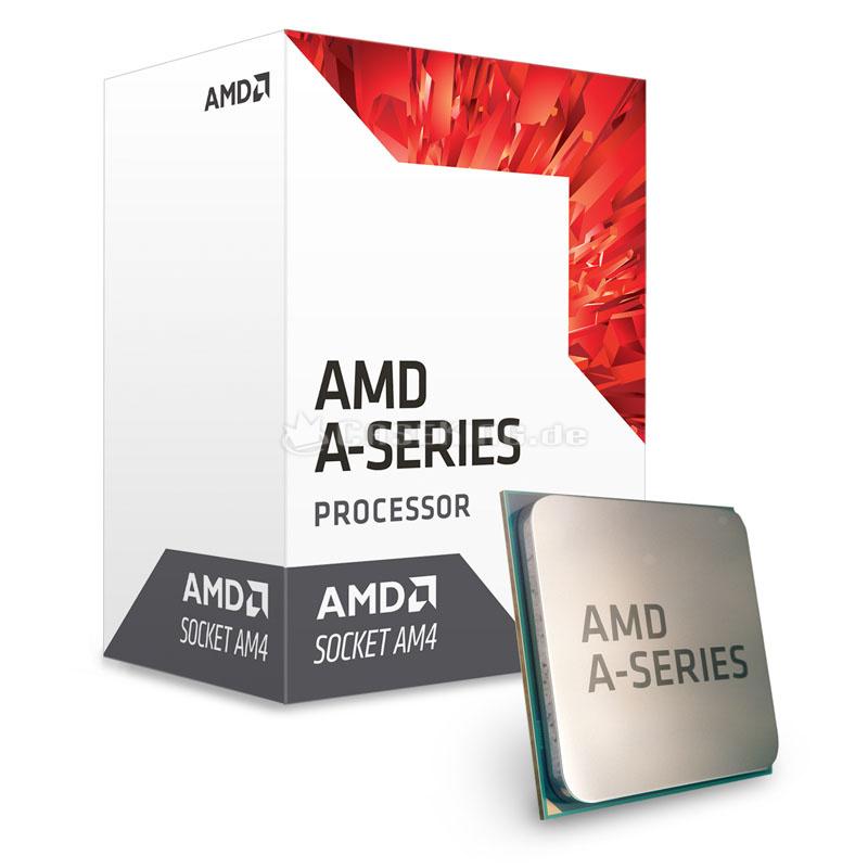 CPU AMD Bristol Ridge A8-9600 APU (Up to 3.4Ghz/ 2Mb cache)