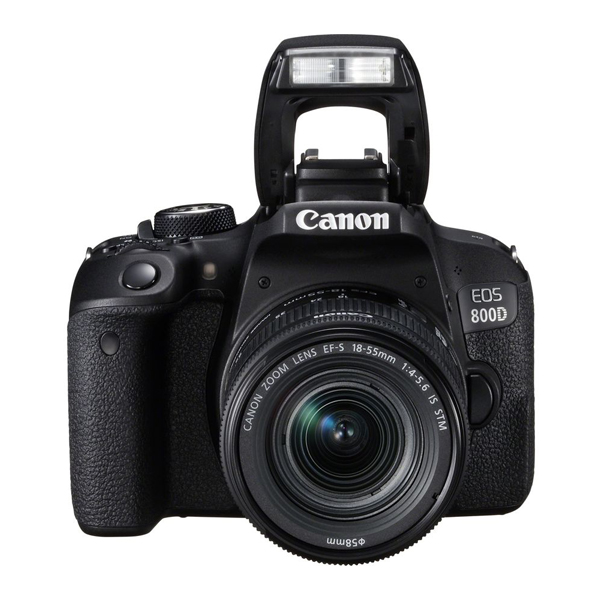 Máy ảnh KTS Canon EOS 800D 1855 - Black (Hàng chính hãng)