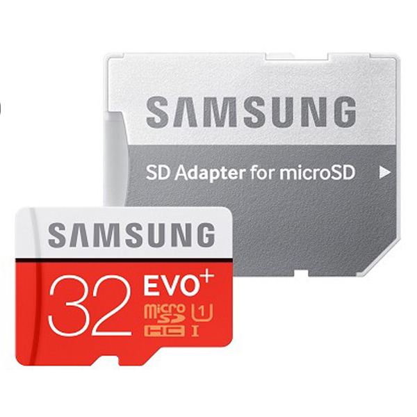 Thẻ nhớ Micro SD Samsung Evo plus 32GB (Kèm Adapter)