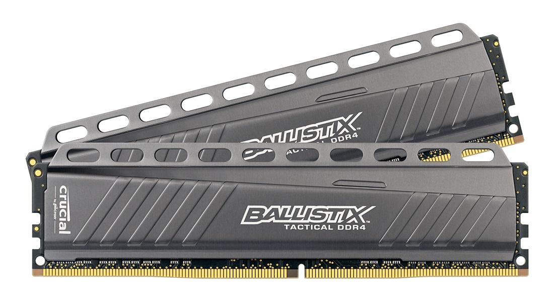 RAM Crucial Ballistix Tactical (2x8)16Gb DDR4 2666 (BLT2K8G4D26AFTA)
