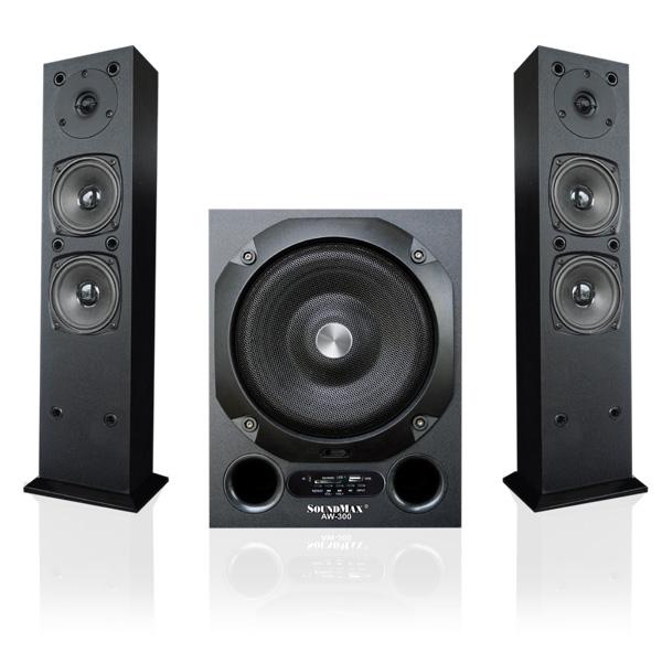 Loa không dây Bluetooth Soundmax 2.1 AW300