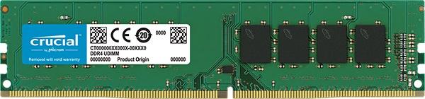RAM Crucial 4Gb DDR4 2400 (CT4G4DFS824A)