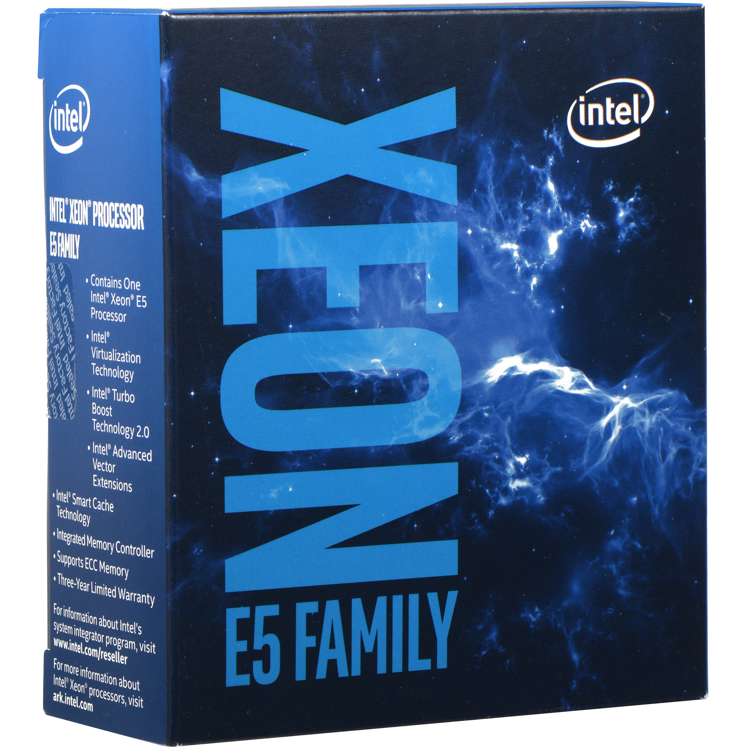 CPU Intel Xeon E5 2620V4 (Up to 3.00Ghz/ 20Mb cache)