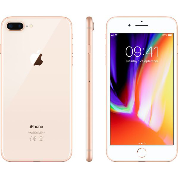 Apple iPhone 8 Plus  (Gold)- 5.5Inch/ 64Gb/ 1 sim